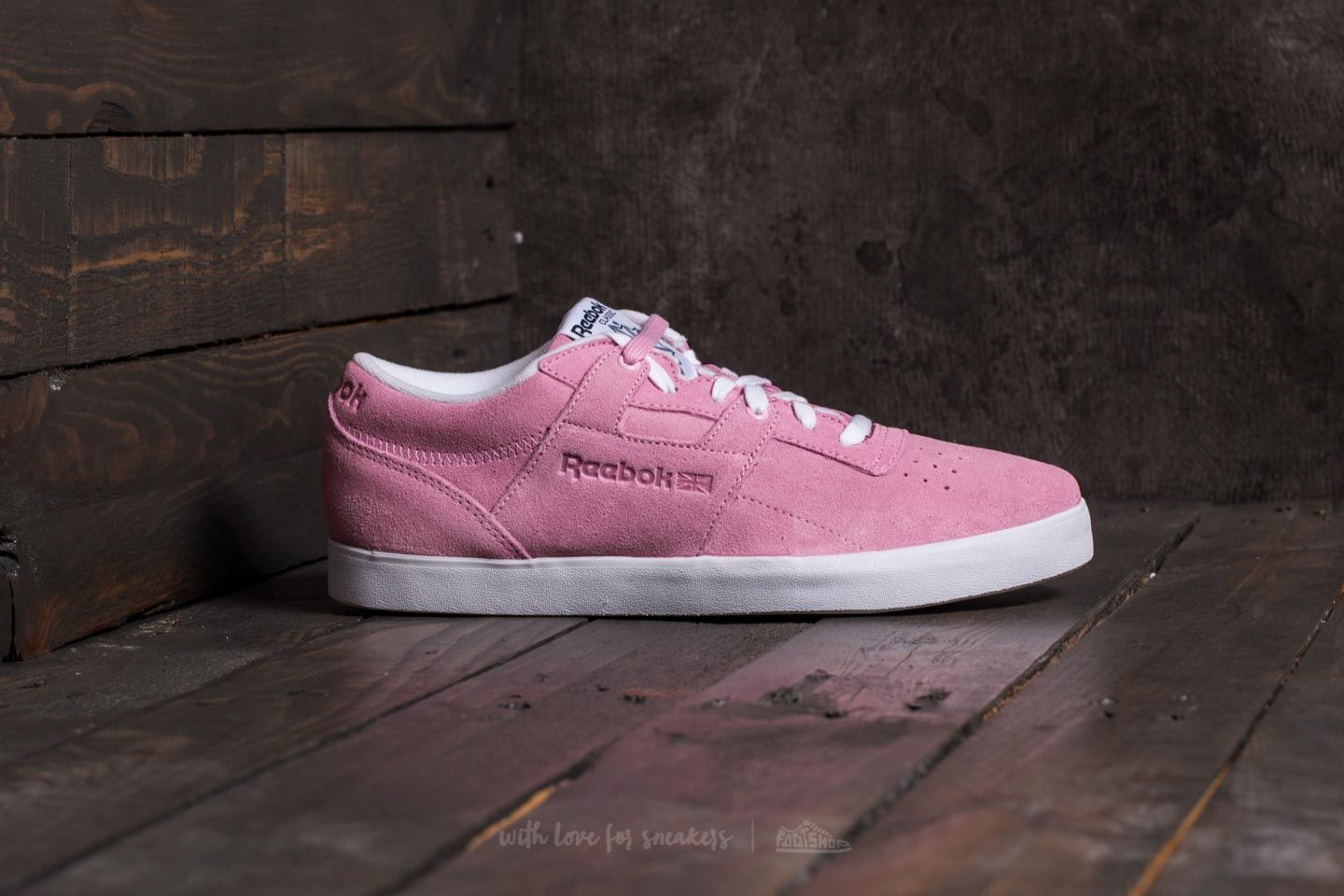 c82698cdcef Reebok Workout Clean FVS Billys Blushy Pink  Collegiate Navy  White at a  great price