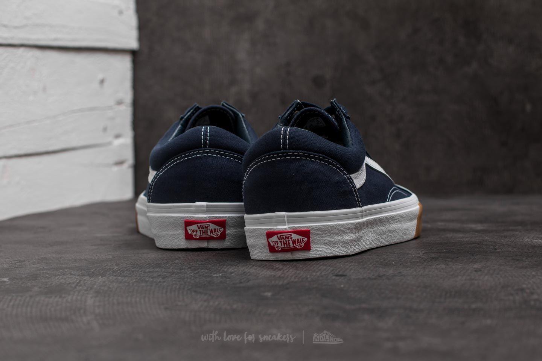 Vans Old Skool Grey, White & Gum Bumper Skate Shoes