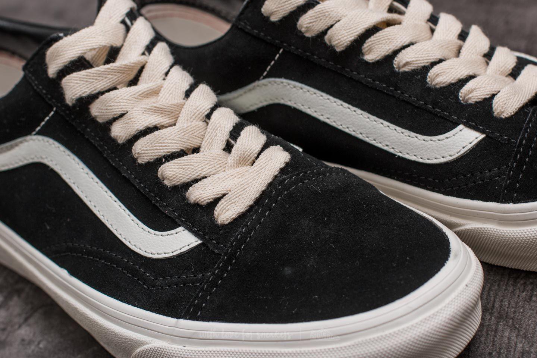 Vans Old Skool (Herringbone Lace) Black Marshmallow | Footshop