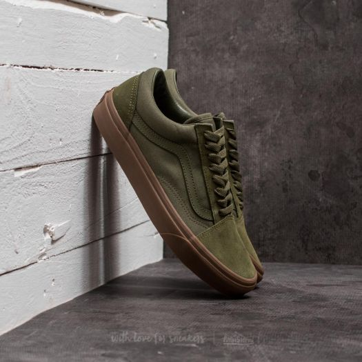 discount size 40 best quality Vans Old Skool (Suede/ Canvas) Winter Moss/ Green | Footshop