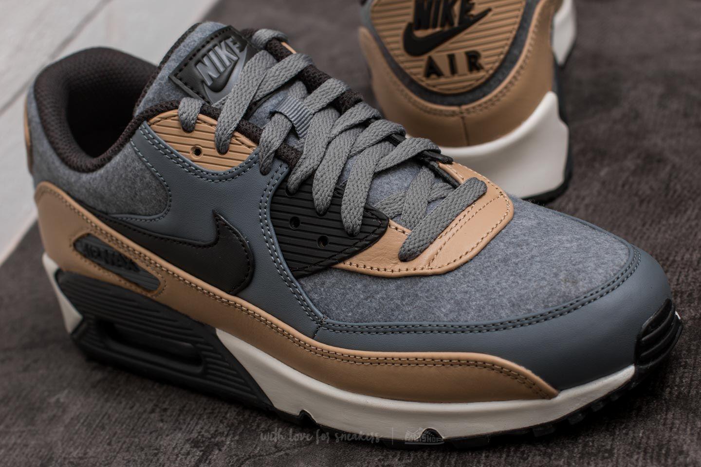 Nike Air Max 90 Premium 'Cool GreyDeep Pewter' | More Sneakers