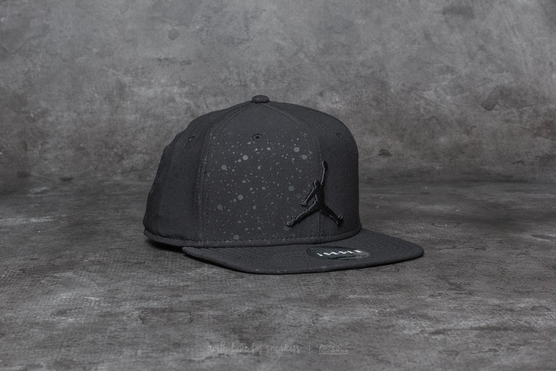 185f3718e98bf2 Jordan Speckle Print Snapback Black