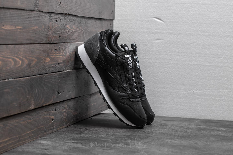 5c96a4e081907 Reebok Classic Leather IT Black  Coal  White