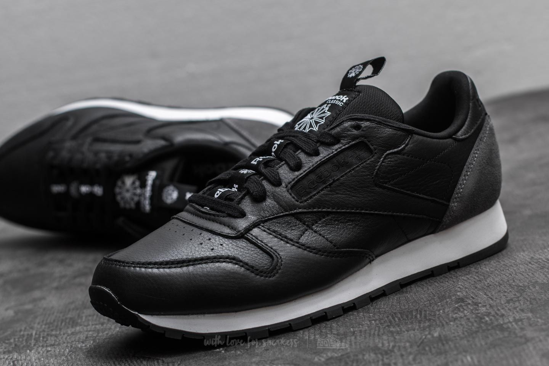 Black – Reebok Classic Leather IT Mens Black Coal White