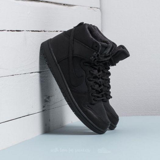 4c4e98f047d Nike SB Zoom Dunk Hi Pro Bota Black  Black-Anthracite