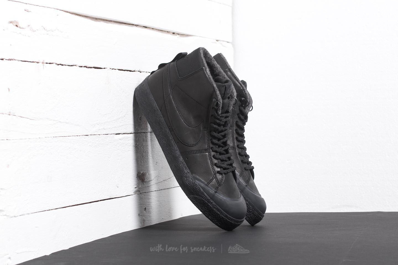 43a7339d0a87 Nike SB Blazer Zoom Mid XT Bota Black  Black-Anthracite