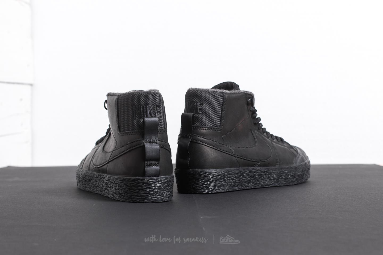 buy popular 85221 0e59f Nike SB Blazer Zoom Mid XT Bota Black/ Black-Anthracite ...