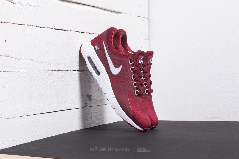 bf4e98d93c7a Nike Air Max Zero Essential Team Red  White-Wolf Grey
