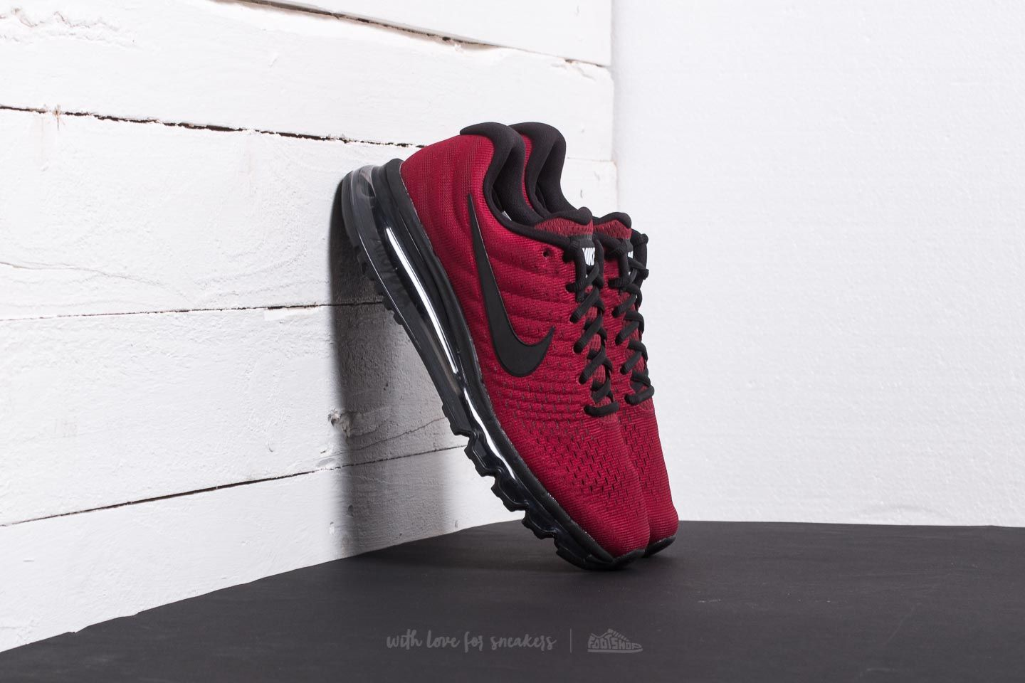 nike air max red and black and grey