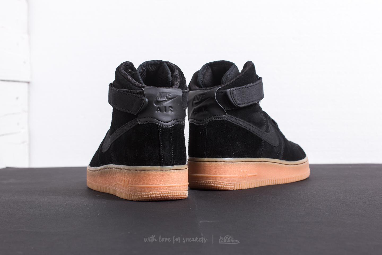 Air '07 Brown Black Nike High Gum Med Lv8 Force Suede 1 R4qAL35j