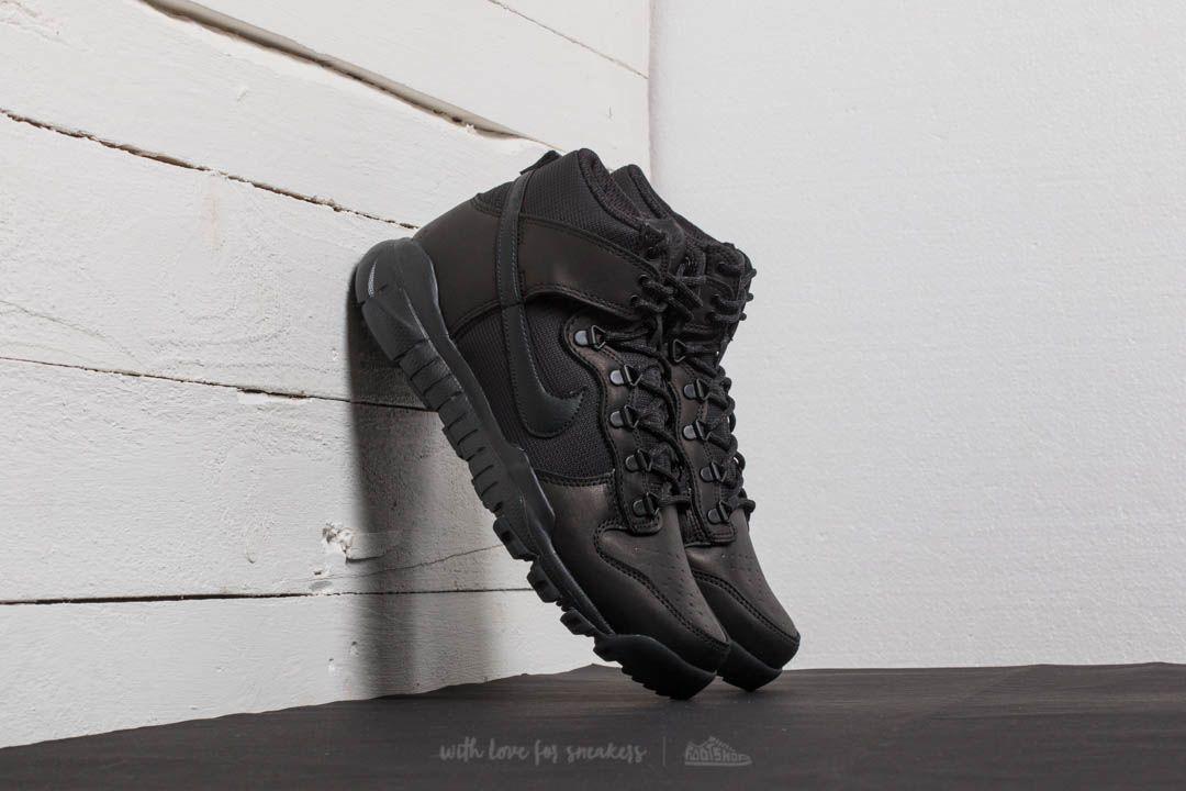fa598a3b18a6 Nike SB Dunk High Boot Black  Black