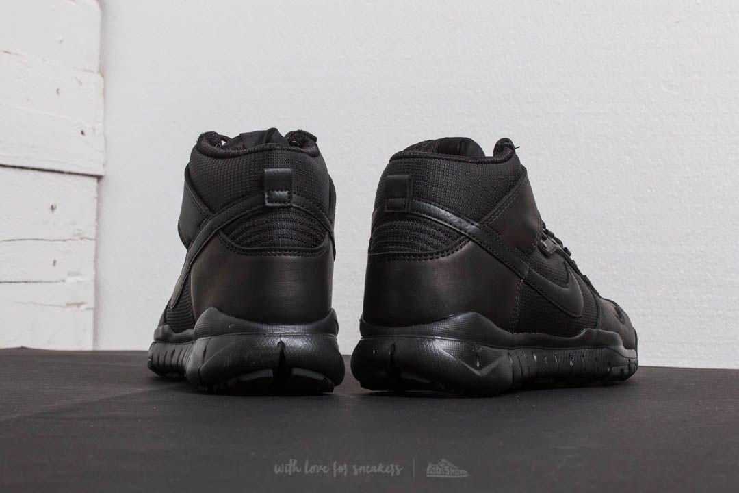 the latest 8a10b d88ae Nike SB Dunk High Boot Black/ Black | Footshop