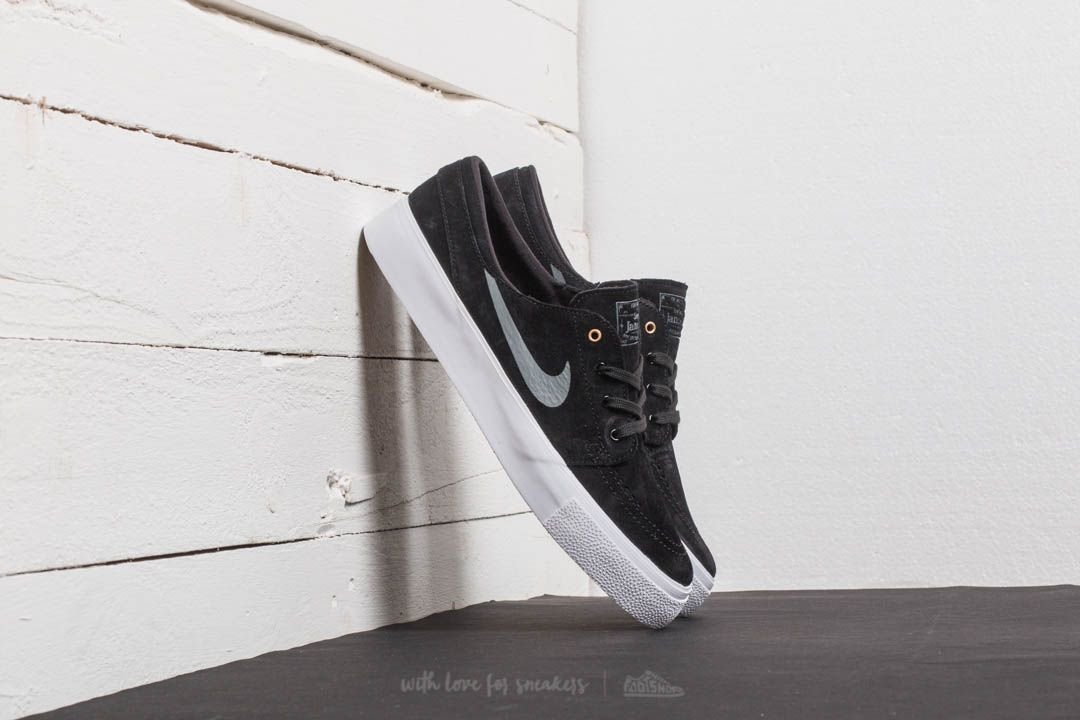84a594c7068f Nike SB Zoom Janoski HT Black  Dark Grey-Metallic Gold