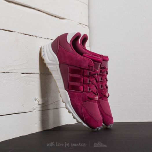 eqt support low adidas burgundy