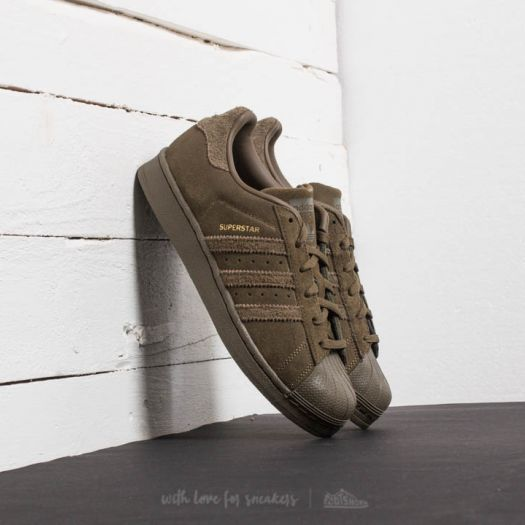 sports shoes 99020 4d230 adidas Superstar J Trace Olive/ Trace Olive/ Trace Olive ...