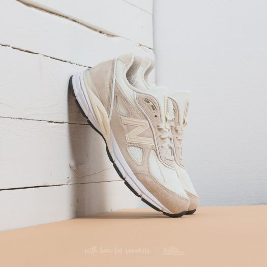 sports shoes 356bf 3ea23 New Balance x Stussy 990 Cream White | Footshop