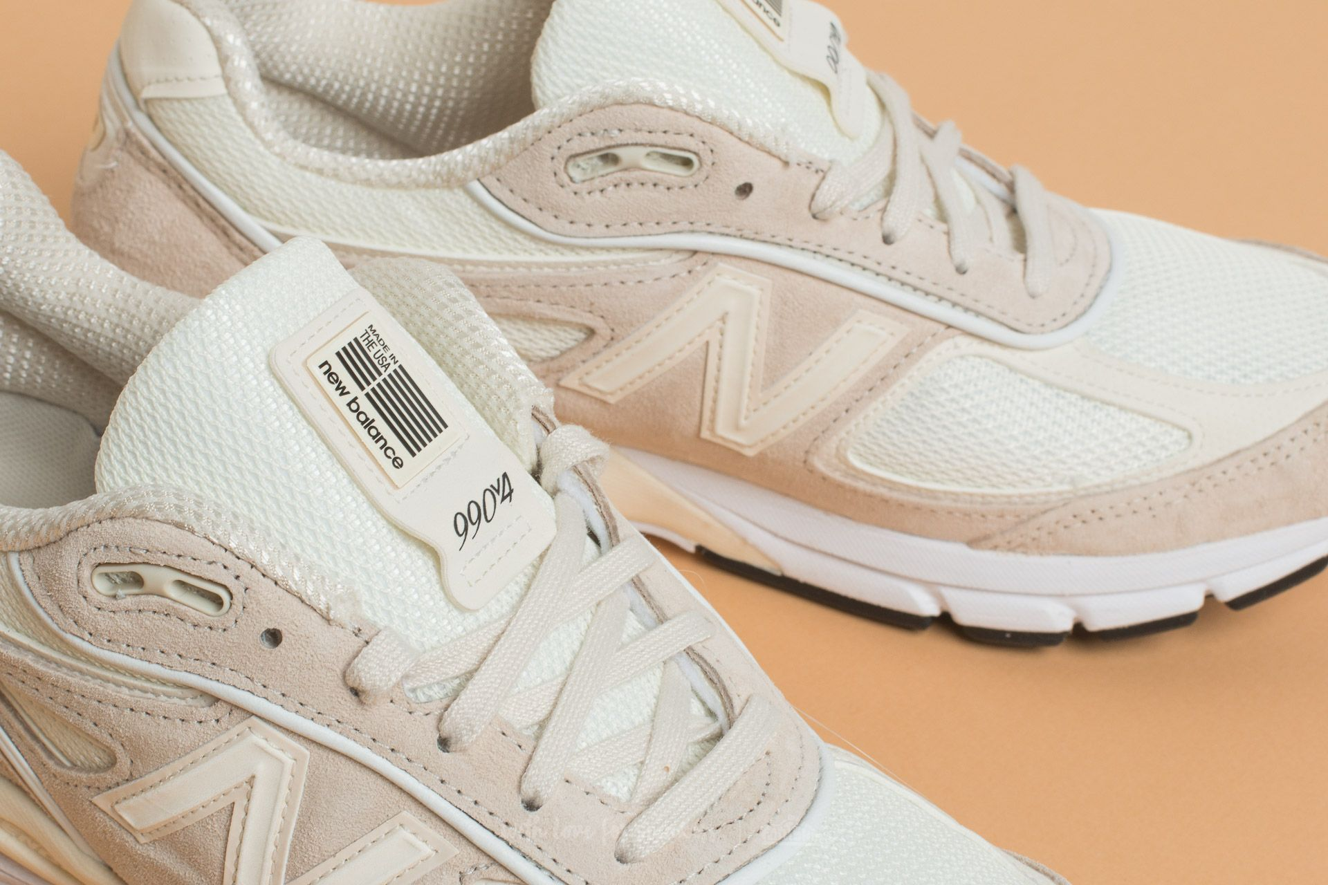 sports shoes 6b25f 17d60 New Balance x Stussy 990 Cream White | Footshop