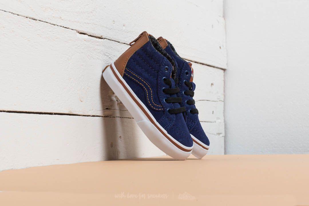 Vans Sk8-Hi Zip (MTE) Blue Depths
