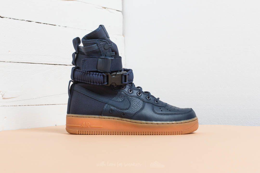 Nike SF Air Force 1 Midnight Navy Midnight Navy | Footshop