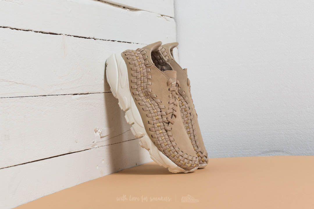 Nike Wmns Air Footscape Woven Mushroom/ Mushroom-Mushroom