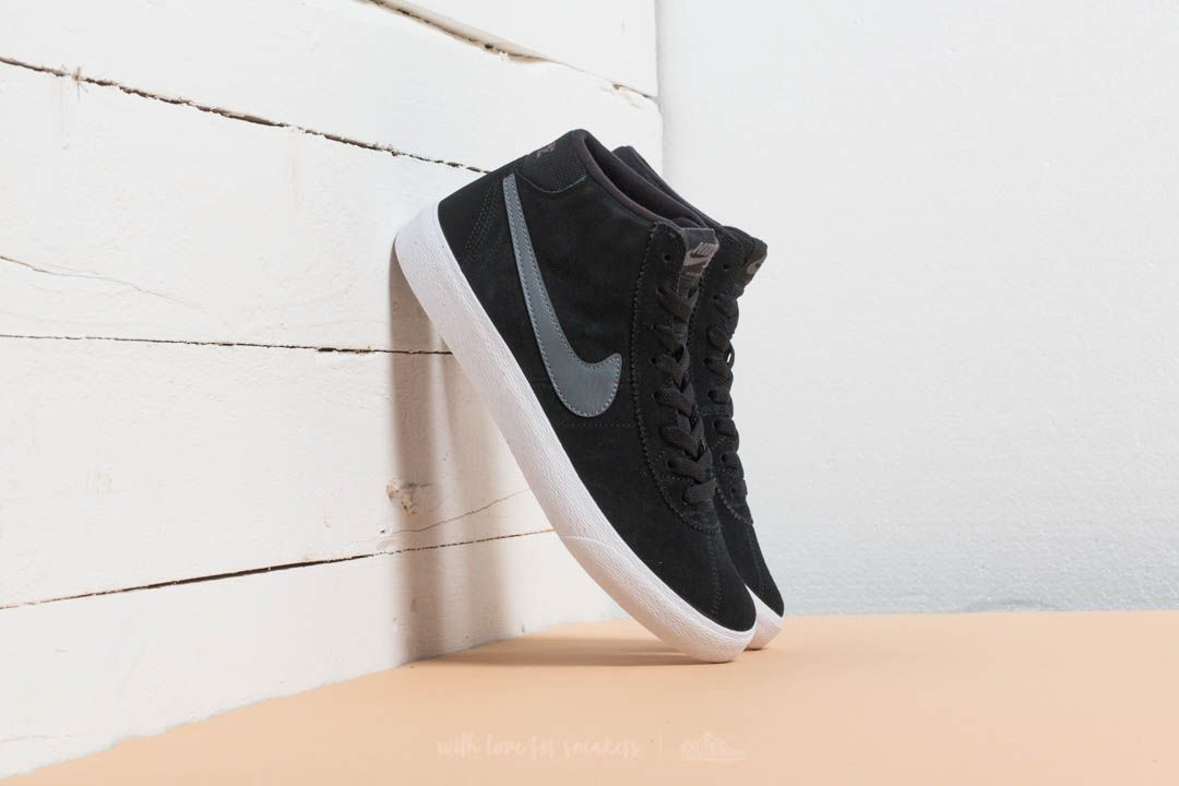 Nike Wmns SB Bruin HI Black/ Dark Grey-White