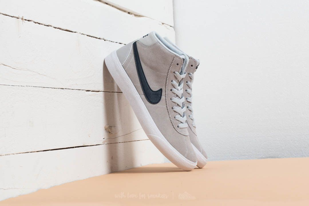 9ee129bc67e81a Nike Wmns SB Bruin HI Pure Platinum  Obsidian-White