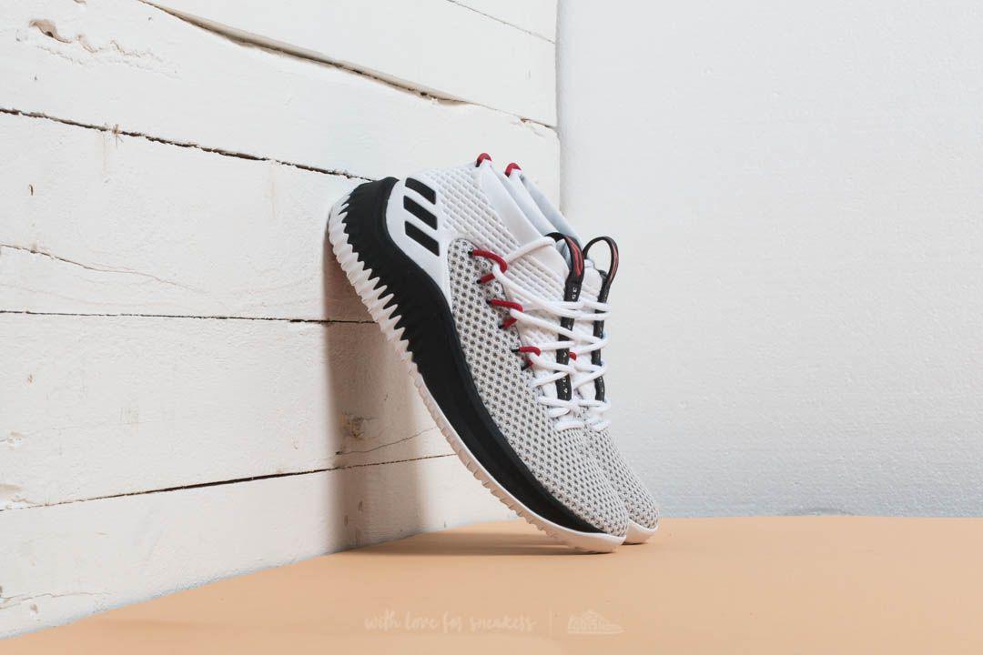 wholesale dealer a1627 82244 adidas Dame 4. Ftw White Core Black Scarlet