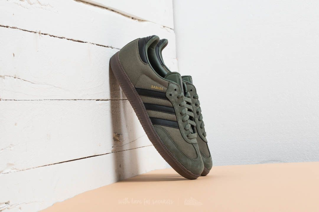 adidas Samba OG St Major Core Black Gum   Footshop