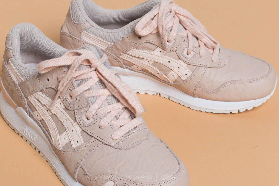 Women's shoes Asics Gel-Lyte III Vanilla Cream/ Vanilla Cream ...