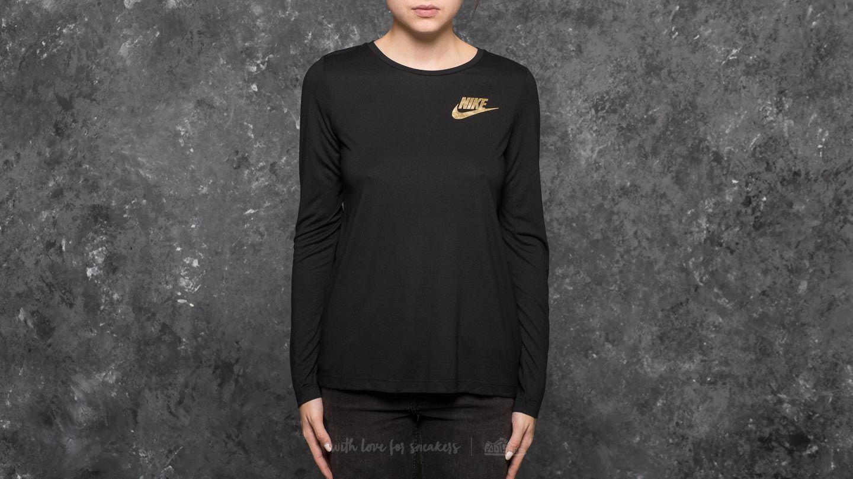 Nike Sportswear Essential Metallic Longsleeve Top