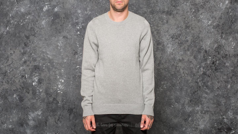 Nike SB Everett Crew Sweater Dark Grey Heather/ Dark Steel Grey za skvělou cenu 990 Kč koupíte na Footshop.cz