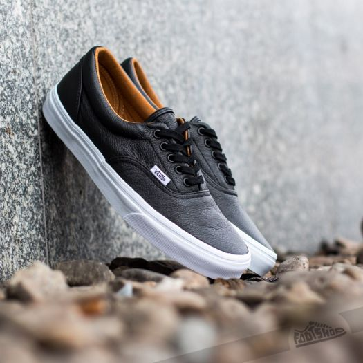 Vans Era (Premium Leather) Black | Footshop