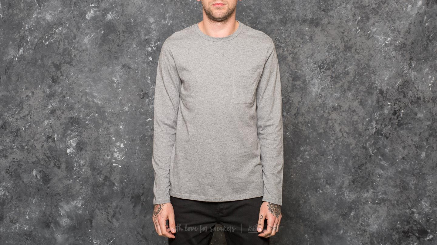 Trička A.P.C. Tyler Sailor Top Heather Grey