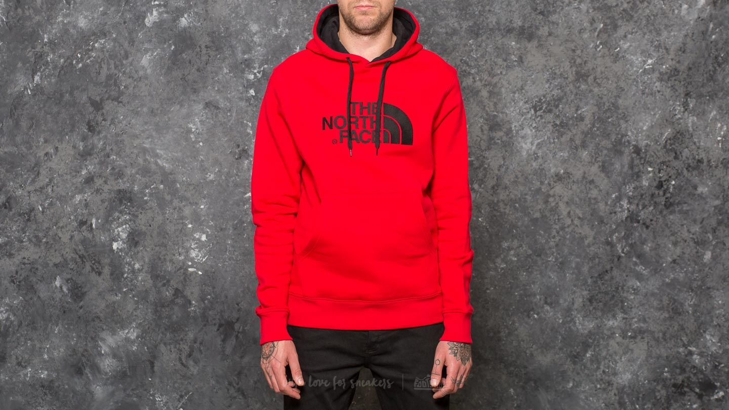 Mikiny a svetry The North Face Drew Peak Pullover Hoodie Tnf Red/ Tnf Red