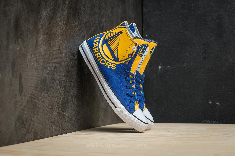 8937d1884e0 Converse x NBA Chuck Taylor All Star SE Hi Blue  Amarillo  White ...