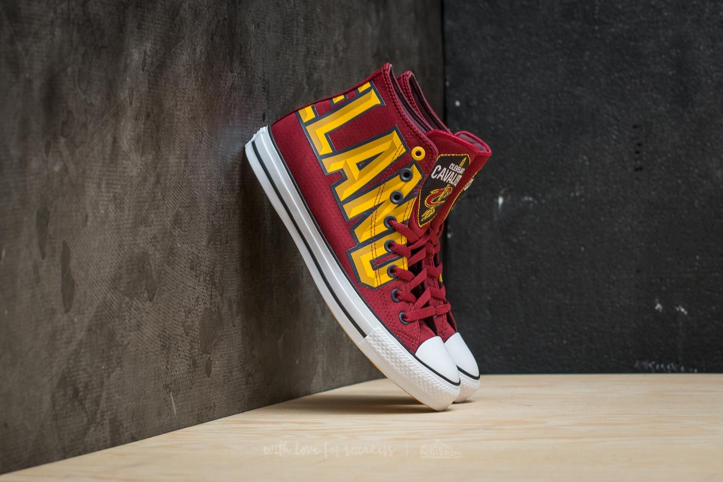 converse all star hi red yellow