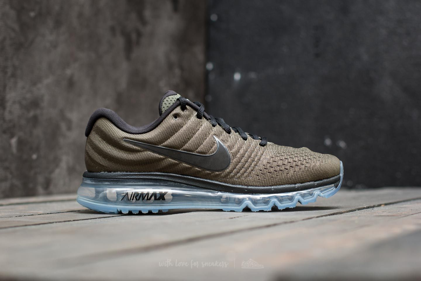 new product 60903 6f5de Nike Air Max 2017 Cargo Khaki/ Black | Footshop