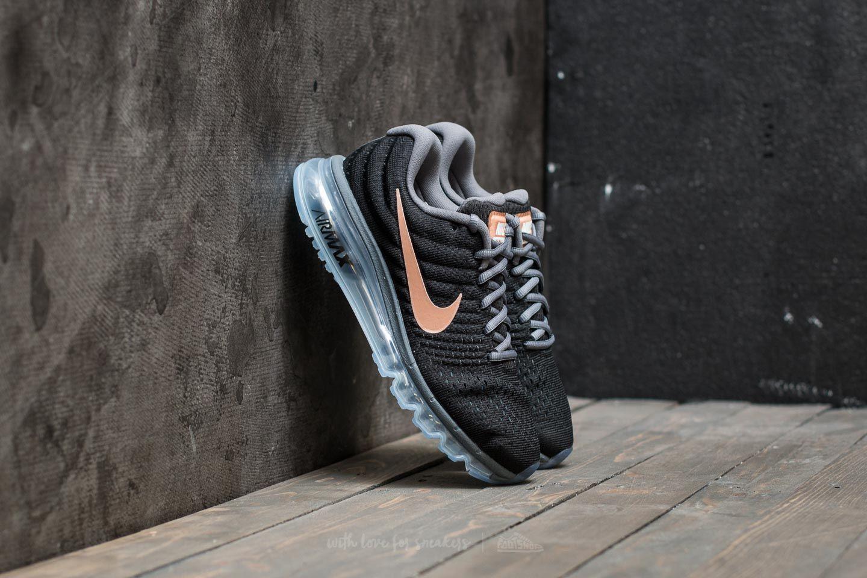 Nike Wmns Air Max 2017 Black Metallic Red Bronze   Footshop