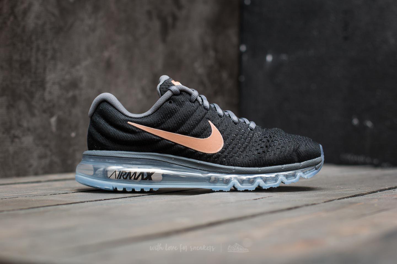 new product 46464 451f5 Nike Wmns Air Max 2017 Black/ Metallic Red Bronze | Footshop