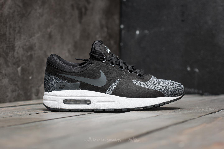 reputable site 2fbd6 bff4a Nike Air Max Zero SE (GS) Black Anthracite-Cool Grey au meilleur