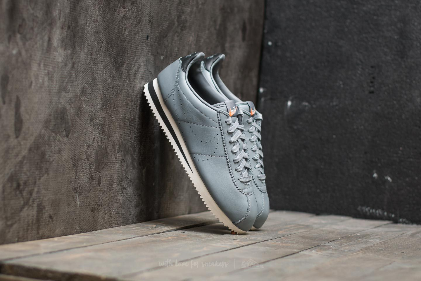 check out d459a 4e91e Nike Classic Cortez Leather Premium. Cool Grey  Cool Grey-Black