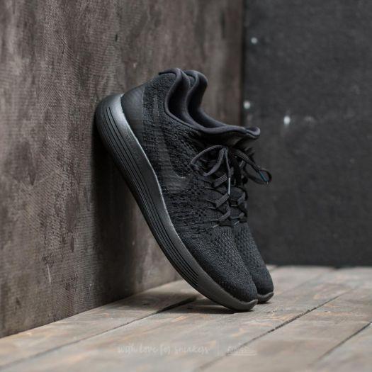 low priced d10fa ed69d Nike W Lunarepic Low Flyknit 2 Black/ Black-Racer Blue ...