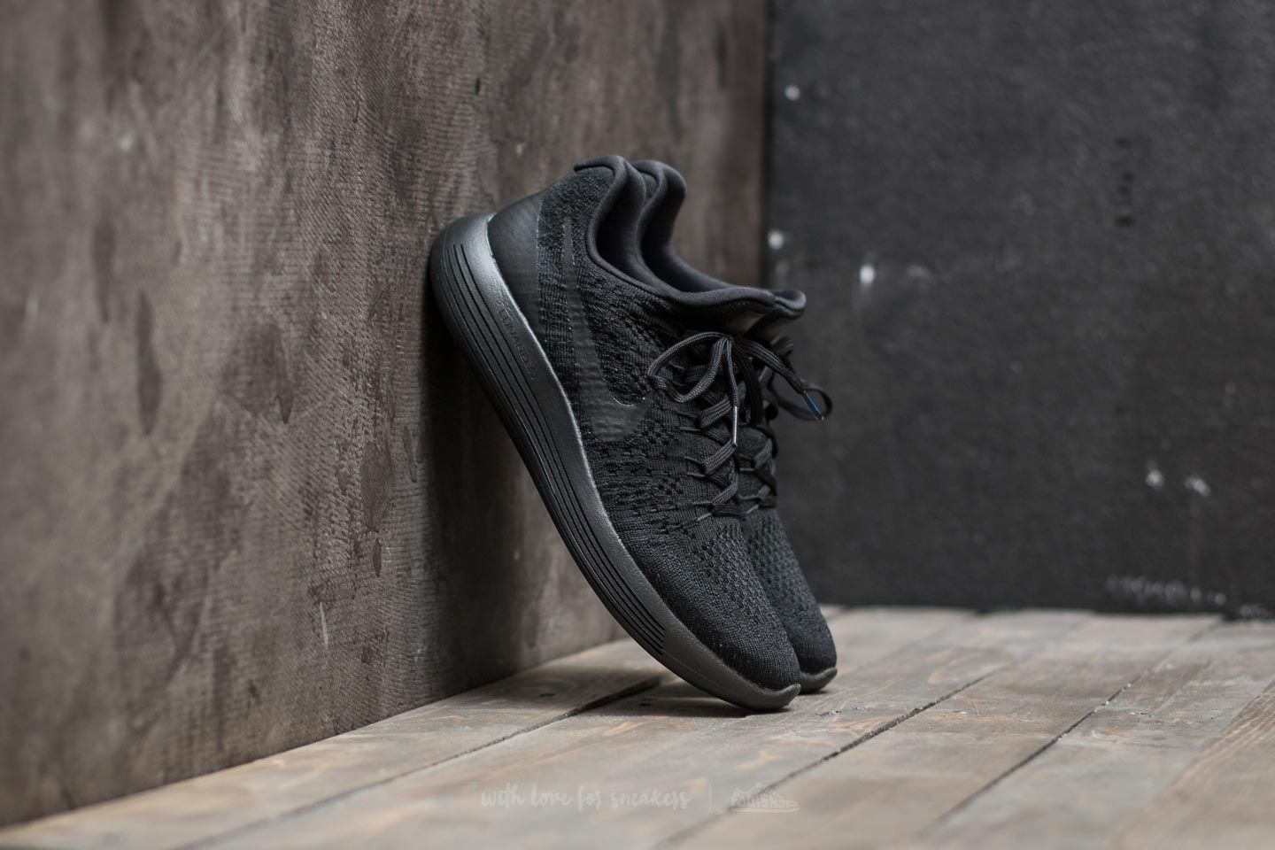 innovative design ca36f 62b13 Nike W Lunarepic Low Flyknit 2 Black  Black-Racer Blue at a great price