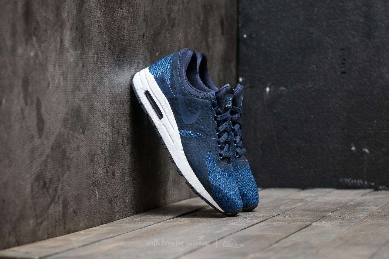 afa9f12467a8a Nike Air Max Zero SE (GS) Obsidian/ Binary Blue-Black | Footshop