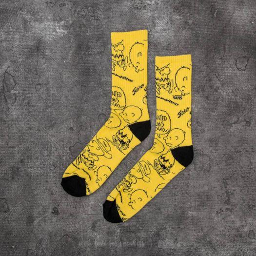 tak tanio przejść do trybu online najnowszy Vans x Peanuts Crew Socks Yellow | Footshop