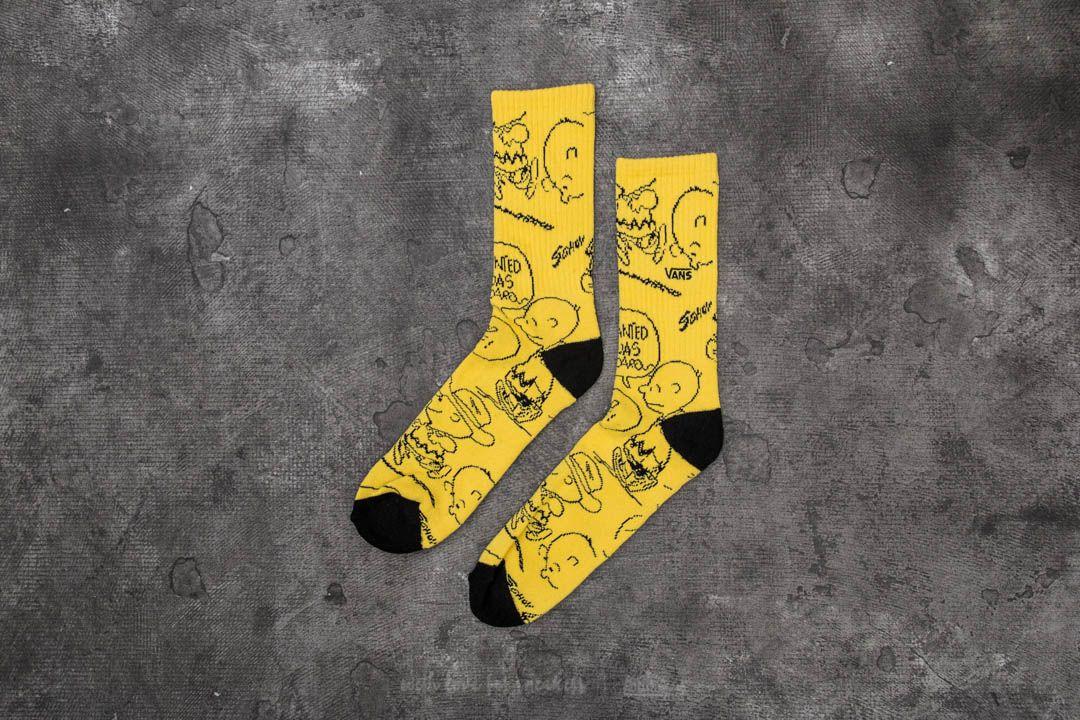 44d7e07a63 Vans x Peanuts Crew Socks Yellow