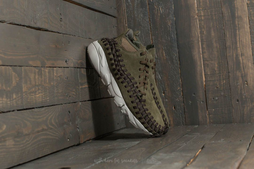 Nike Air Footscape Woven Chukka Cargo Khaki/ Velvet Brown