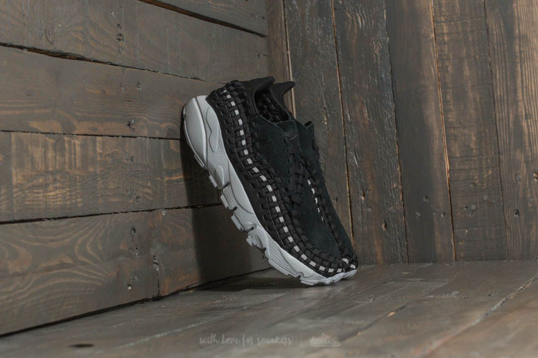 Nike Wmns Air Footscape Woven Black  Black-Reflect Silver at a great price  92 41274dbbfa
