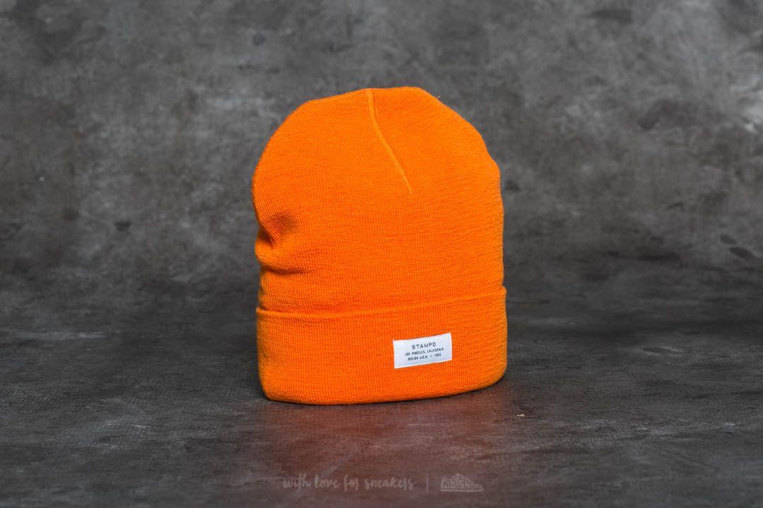 STAMPD Turf Cap Orange za skvělou cenu 999 Kč koupíte na Footshop.cz
