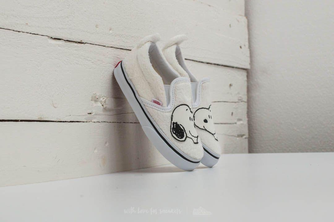 1f22e573d Vans x Peanuts Classic Slip-on Snoopy  True White